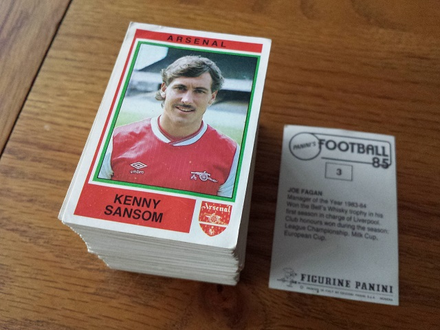 Panini Football 85 Loose Stickers