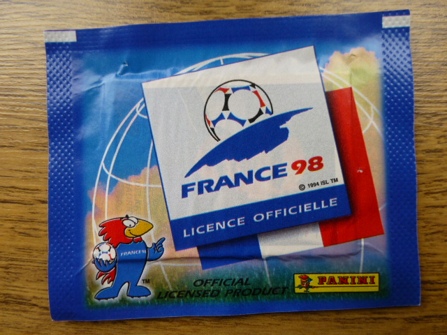 Panini France 98 Sticker Pack