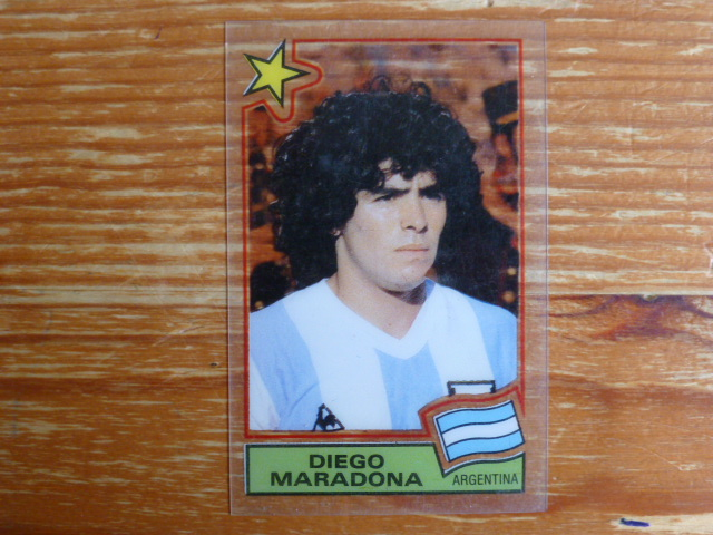 Panini Football Superstars - Diego Maradona