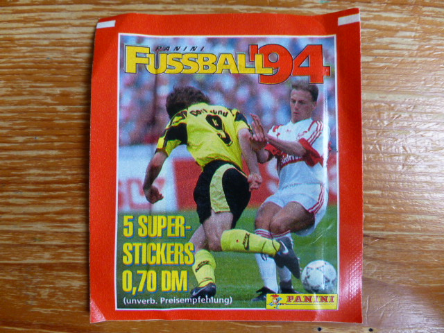 Panini Fussball 94 Sticker Pack (Germany)