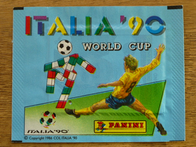 Panini Italia 90 Sticker Pack