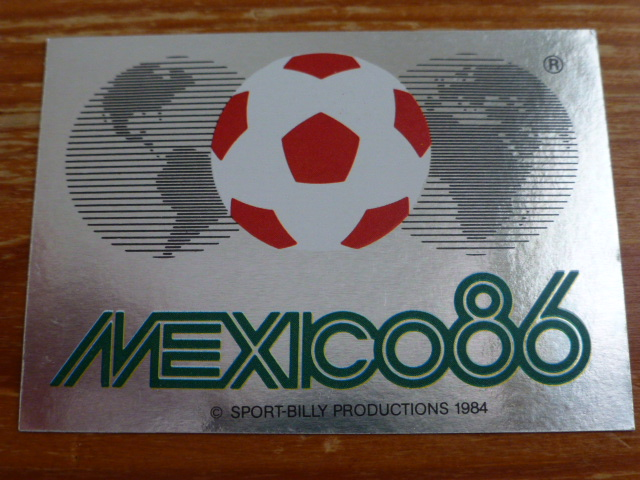 Panini Mexico 86 - World Cup Emblem