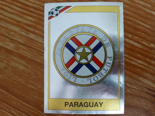 Panini Mexico 86 Badge - Paraguay (1)