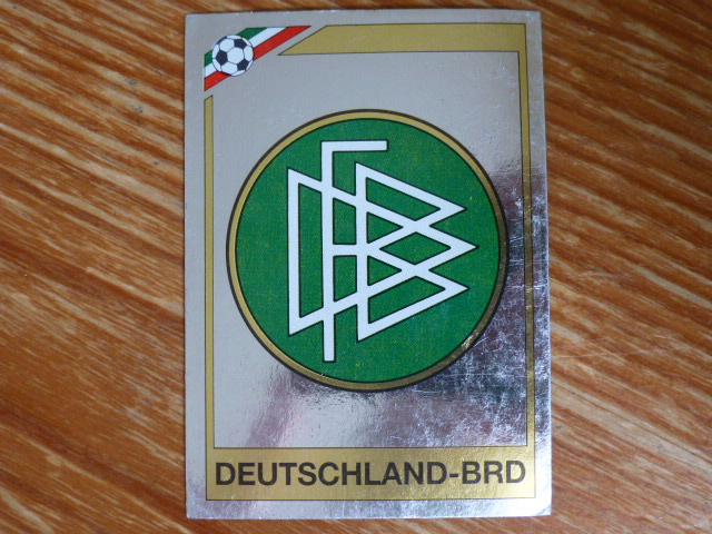 Panini Mexico 86 Badge - West Germany