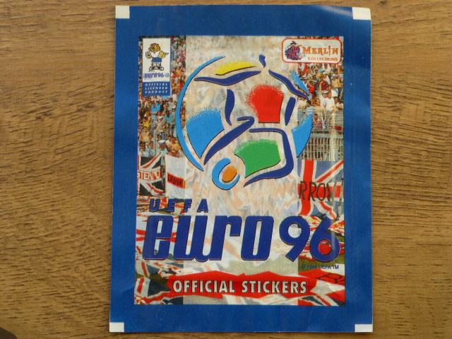 Merlin Euro 96 Sticker Pack