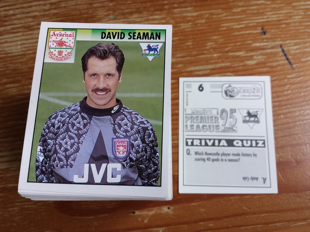 Merlin Premier League 95 Individual Stickers