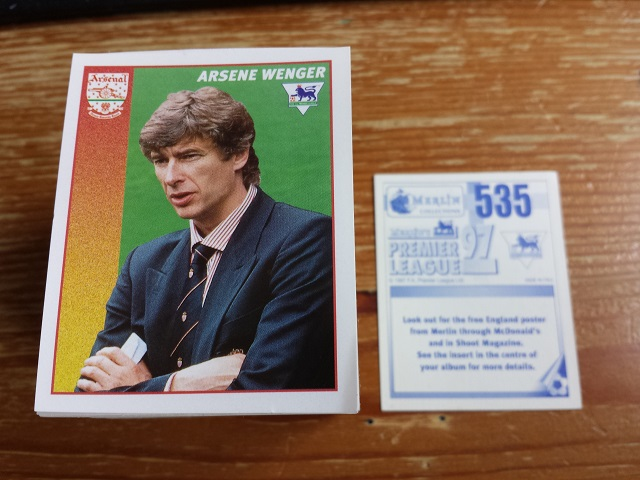 Merlin Premier League 97 Individual Stickers