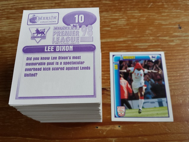 Merlin Premier League 98 Individual Stickers