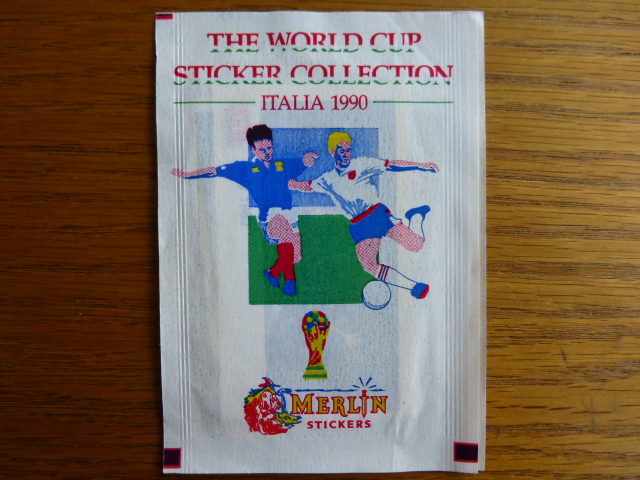 Merlin Italia 90 Sticker Pack