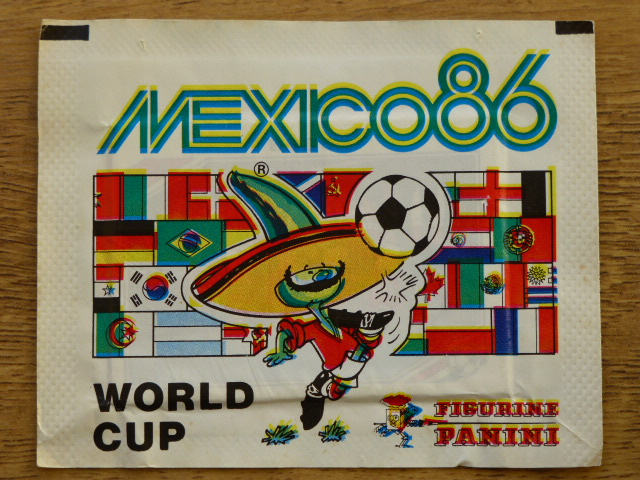 Panini Mexico 86 Sticker Pack