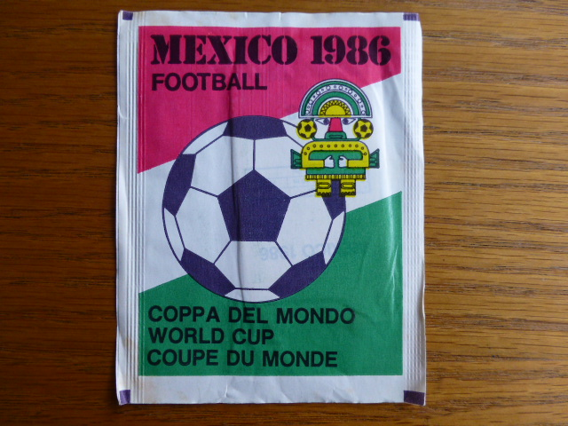 Mammoth Fleer Mexico 86 Sticker Pack