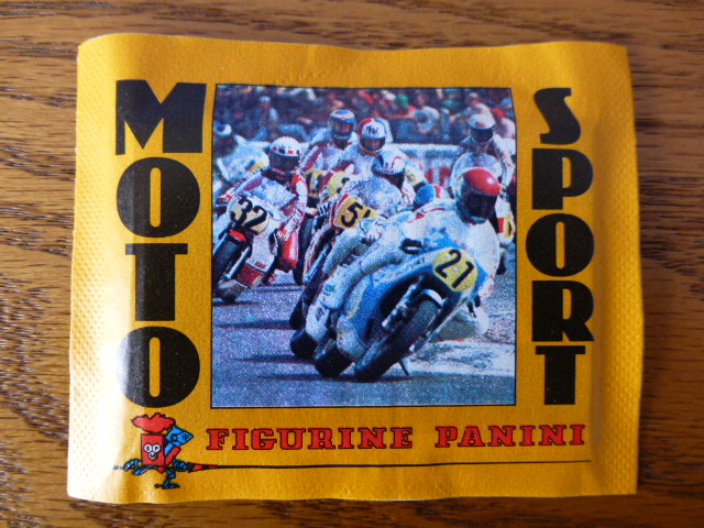 Panini Moto Sport Sticker Pack
