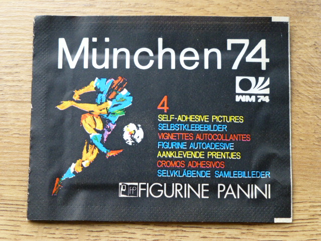 Panini Munchen 74 Sticker Pack