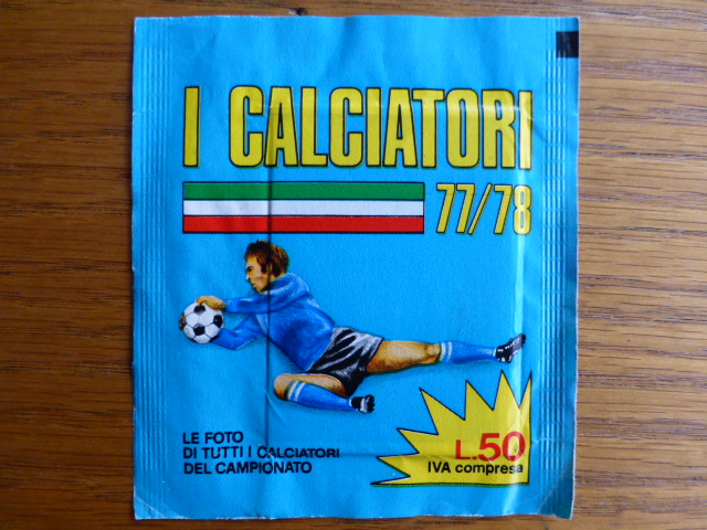 Playmoney Calciatori 77/78 Sticker Pack (Italy)