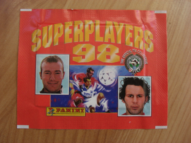 Panini Super Players 98 Sticker Pack