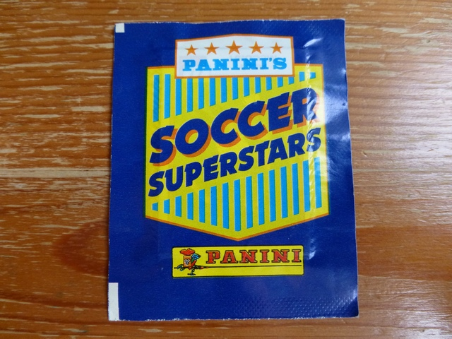 Panini Soccer Superstars Sticker Pack