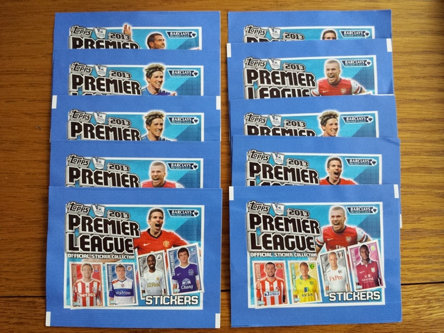 Topps 2013 Sticker Packs
