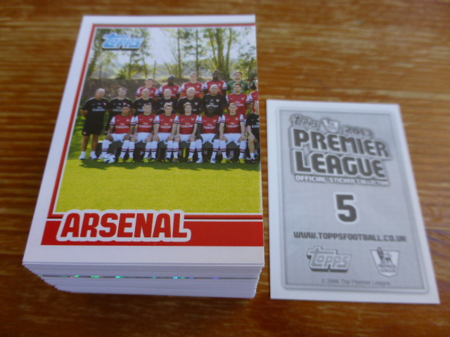 Topps Premier League 2013 Individual Stickers