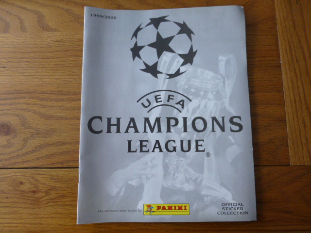 Champions League 1999/2000 Empty Album (01)