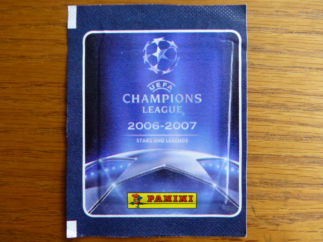 Panini Champions League 2006-2007 Sticker Pack