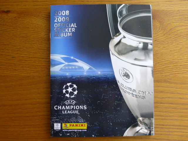 Champions League 2008/2009 Complete Album (01)