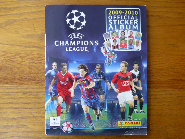 Champions League 2009/2010 Complete Album (01)