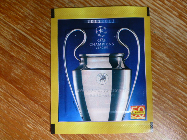Panini Champions League 2011-2012 Sticker Pack