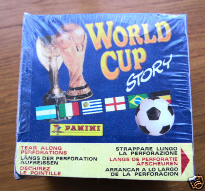 Panini World Cup Story - Sealed Box Of 50 Packs